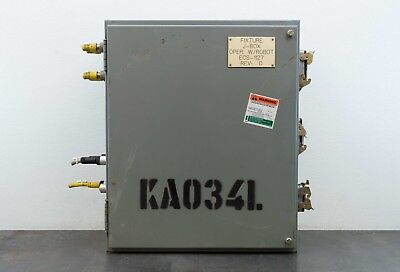 Square D 24x20x10 Electrical Enclosure Control Box W Backplate Type 1213