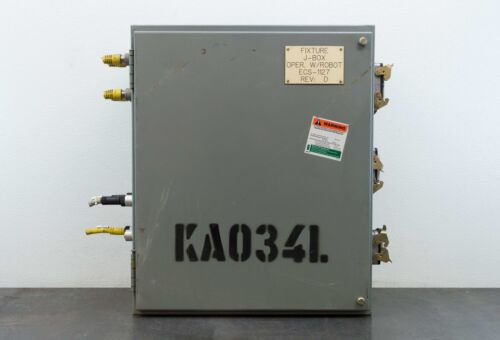 """Square D 24""""x20""""x10""""  Electrical Enclosure Control Box w/ Backplate Type 12,13"""