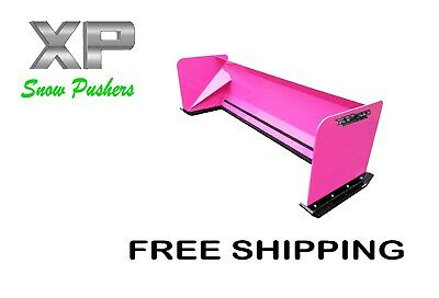 8 Xp30 Pink Skid Steer Snow Pusher Bobcat Case - Free Shipping - Rtr