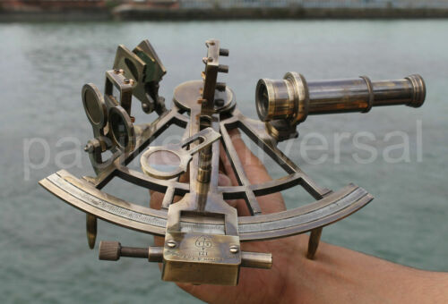 Nautical Working Astrolabe Sextant Vintage style Marine Navigation Use for Gift