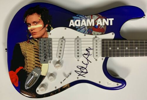 Adam Ant JSA Autograph Signed Guitar Stratocaster Adam And The Ants