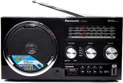 ***NEW*** PANASONIC RF-800U AM FM SW Shortwave USB Portable