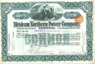 Mexikan Norhern Power Company 1911 - RAR -
