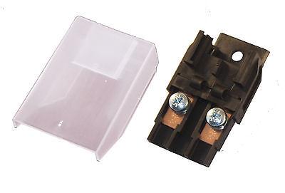 Kfz Sicherungshalter Maxi Flachsicherung Sicherung inkl. Abdeckung geschraubt