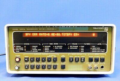 Tau-tron S5200d Digital Transmission Test Set Untested Item As Is