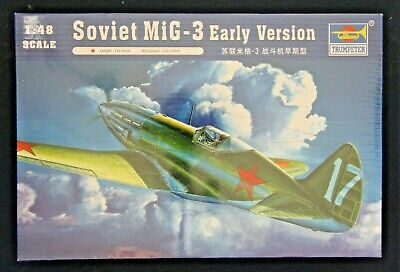 Trumpeter 02830 1/48 MiG-3 Early - Trumpeter Mig 3