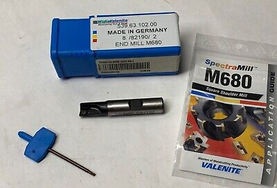 Valenite Indexable End Mill Cutter - M680 539.63.102.00 - New