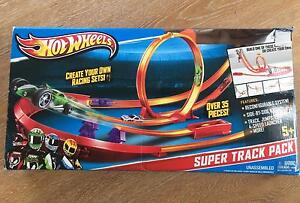 Hot Wheels Super Track, Launchers and Carry Case Box Cremorne Point North Sydney Area Preview