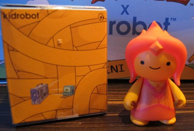 "Kidrobot ADVENTURE TIME 3"" MINI SERIES flame princess Rate 3/40 open blindbox"