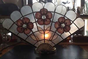 Vintage Fan Accent or Table Lamp