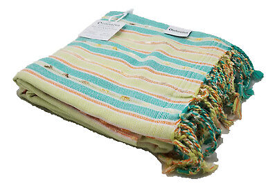 Oversized Mint Green Peshtemal Turkish Beach & Bath Towel, S