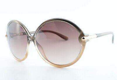 Tom Ford Sunglasses Rita TF225 50F 63 14 130 Lady Italy Round c2011 + D&g Case