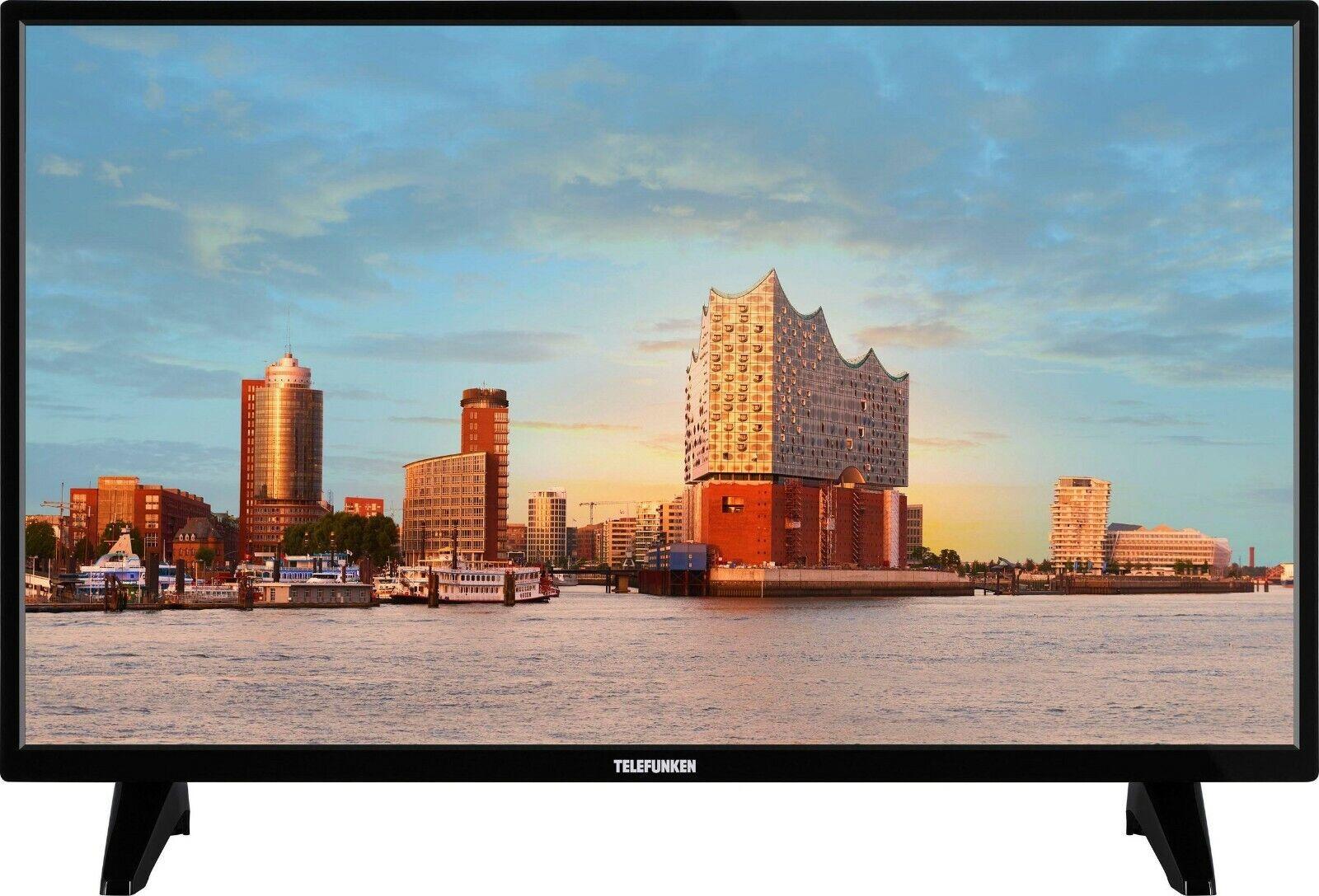 Telefunken LED-Fernseher 81 cm/32 Zoll, HD,Triple Tuner (DVB-T2/C/S2) HDMI USB