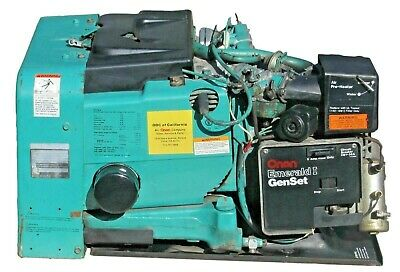 Cummins Onan Emerald I Genset 4000 Watt Rv Generator 4 Kw