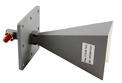 17.6ghz To 26.7ghz 20db Gain Horn Antenna With K-f Connector