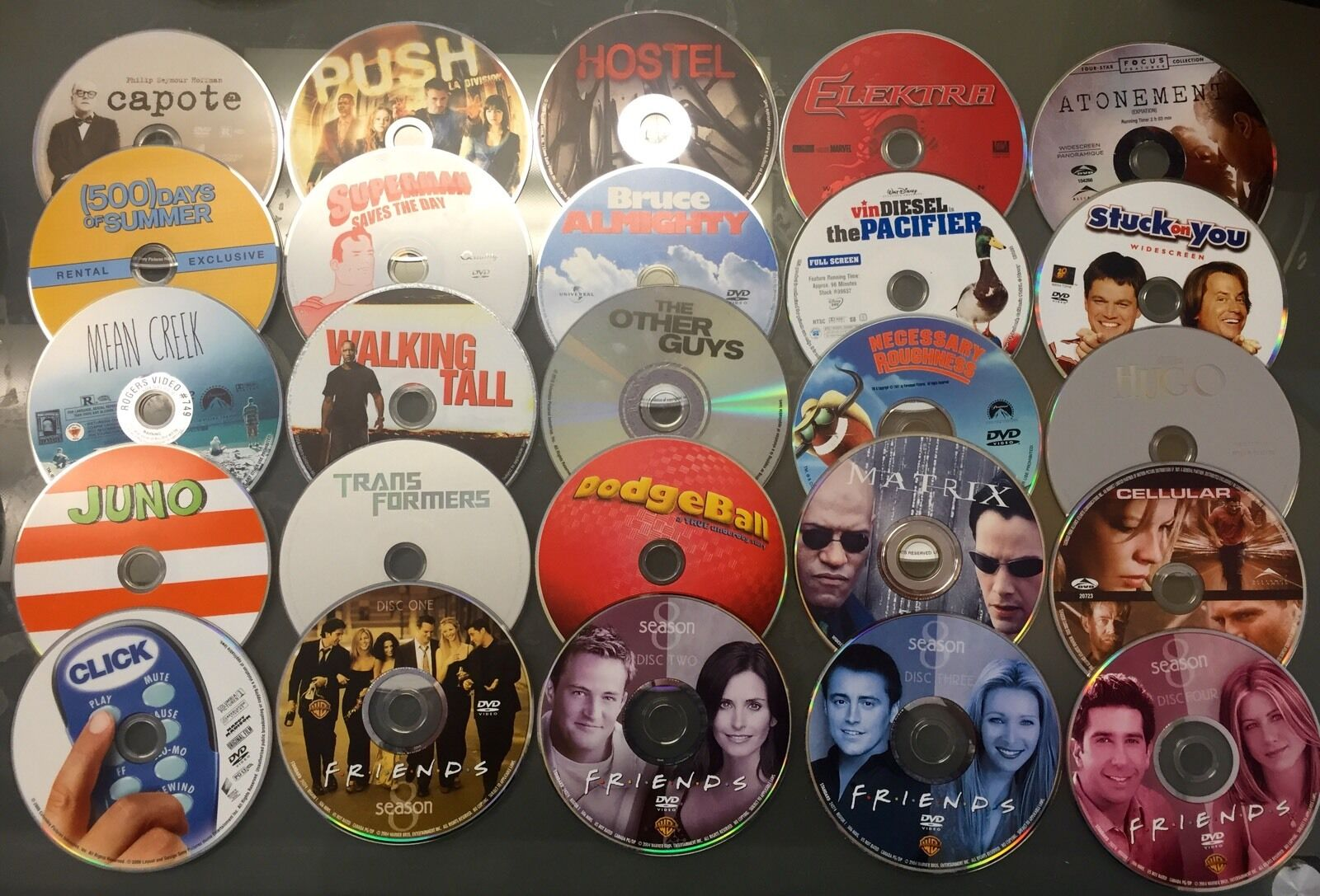 WHOLESALE LOT OF 100 GOOD CONDITION ASSORTED DVDS MOVIES BULK +7 FREE VIDEOGAMES