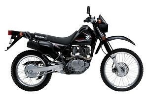 DRZ400SM and DR200 (street and trail)