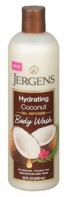 JERGENS BODY WASH 22 Ounce COCONUT -