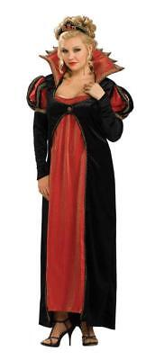 Scarlet Vamptessa Costume Early 19th Century Blk/Red Empire Waist Gown Plus Size](19th Century Halloween Costumes)