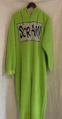 Seasame Street Cookie Monster Halloween Costume Sz L/XL unisex Spirit One Piece