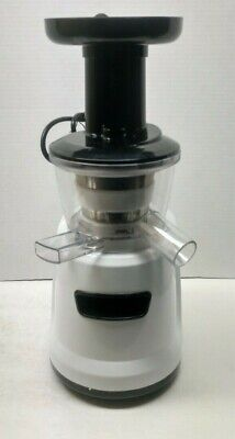 World Best Juicer WJ100 Slow Masticating Juicer White 150W - Household (Best Slow Masticating Juicer)