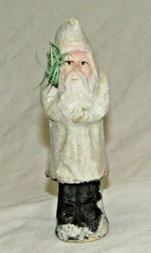 "German Antique Santa Belsnickle 5"" Christmas Ornament Vintage Decoration 1900"