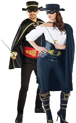 Couples Ladies AND Mens Highway Bandits Halloween Fancy Dress Costumes Outfits](Halloween Outfits Couples)
