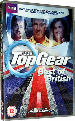 Top Gear Best Of British DVD BBC Motor Car Series Jeremy Clarkson New (Top Gear Best Cars)