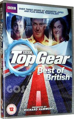 Top Gear Best Of British DVD BBC Motor Car Series Jeremy Clarkson...