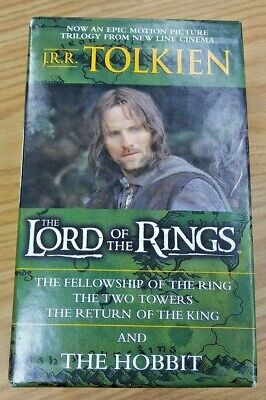 Lord of the Rings Box Set Books + The Hobbit. Only read