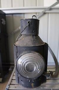 Railway Lamp, Old Collectable Banyo Brisbane North East Preview