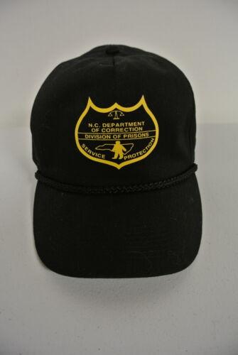 North Carolina Department of Correction Prisons Prototype Cap Hat - Vintage