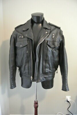 North Las Vegas Police Motorcycle Jacket Size XL and Radar Tuning Fork - EUC