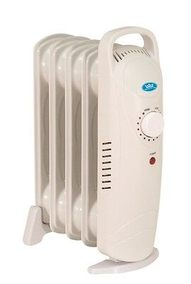 Prem-I-Air 500W 5 Fin Home Office Portable Electric Oil Filled Radiator #1674