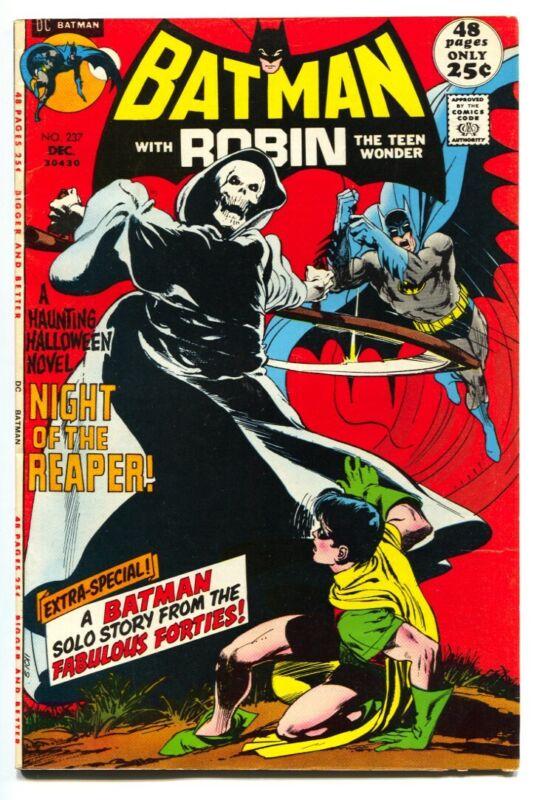 BATMAN #237-1971-FIRST REAPER-NEAL ADAMS-comic book FN+