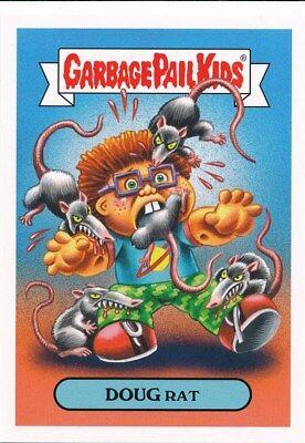 A Cartoon Rat (2A DOUG RAT 2019 Garbage Pail Kids Hate 90's CARTOONS/COMICS)