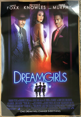 DREAMGIRLS MOVIE POSTER 2 Sided ORIGINAL INTL 27x40 BEYONCE KNOWLES