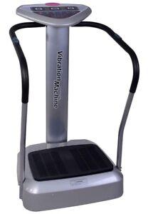 Vibration machine exercise equipment