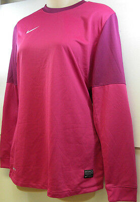 Nike Womens Club Goalie II Jersey Fireberry Rave Pink Small