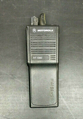 Motorola Ht1000 Radio Vhf 16 Channel 136-174 Mhz H01kdc9aa3n No Battery