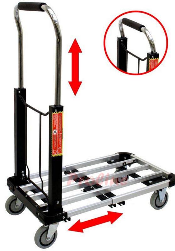 330 LB Cap Aluminum Folding Platform Cart 16