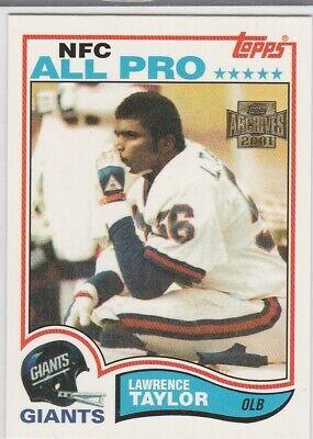 York Giants RP ROOKIE CARD Topps Football RC NFL HOFer! (Nfl New York Giants)