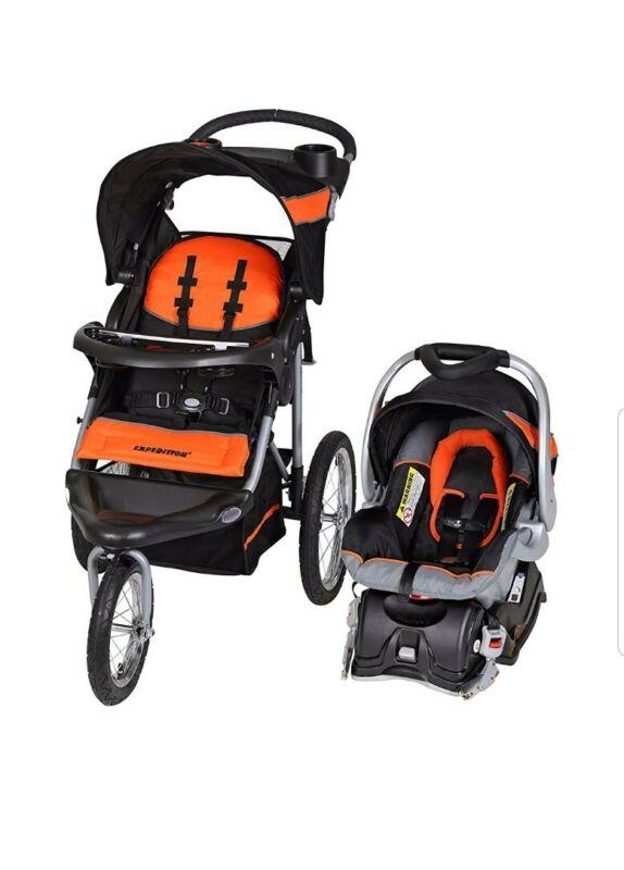 Baby Trend Expedition Jogger Travel System - Millennium Orange