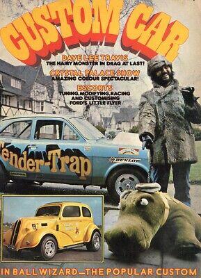 CUSTOM CAR MAY 1974-PINBALL WIZARD POP-TENDER TRAP MK1 ESCORT-CONSUL GT GRANADA