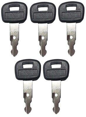 5 Key For Kubota Mini Excavator Backhoe Skid Steer Track Loader 459a