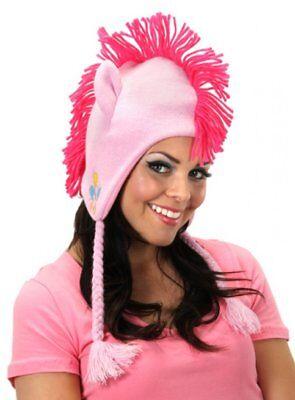 My Little Pony Pinkie Pie Knit Laplander Hoodie - My Little Pony Pinkie Pie Hoodie