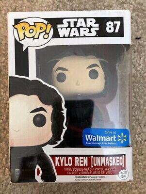 "Funko Pop MINT Star Wars ""Kylo Ren Unmasked"" #87"