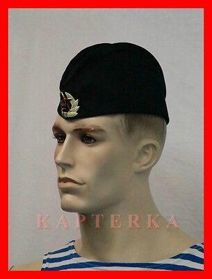 ☆ ORIGINAL RUSSISCHE ARMEE KRIEGSMARINE UNIFORM SCHIFFCHEN KAPPE PILOTKA MATROSE