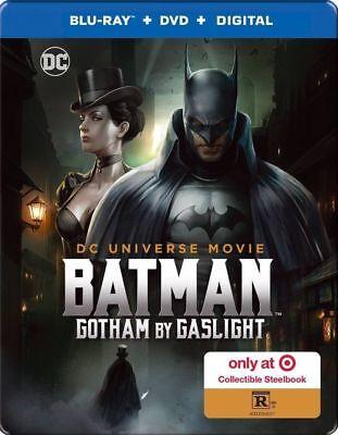 Batman:: Gotham By Gaslight EXCLUSIVE Blu-Ray/ DVD/ Digital HD SteelBook target