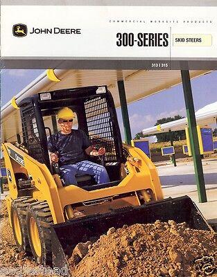 Equipment Brochure - John Deere - 313 315 - Skid Steer Loader - C2007 E1803